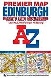 Edinburgh Premier Map (A-Z Premier Street Maps)