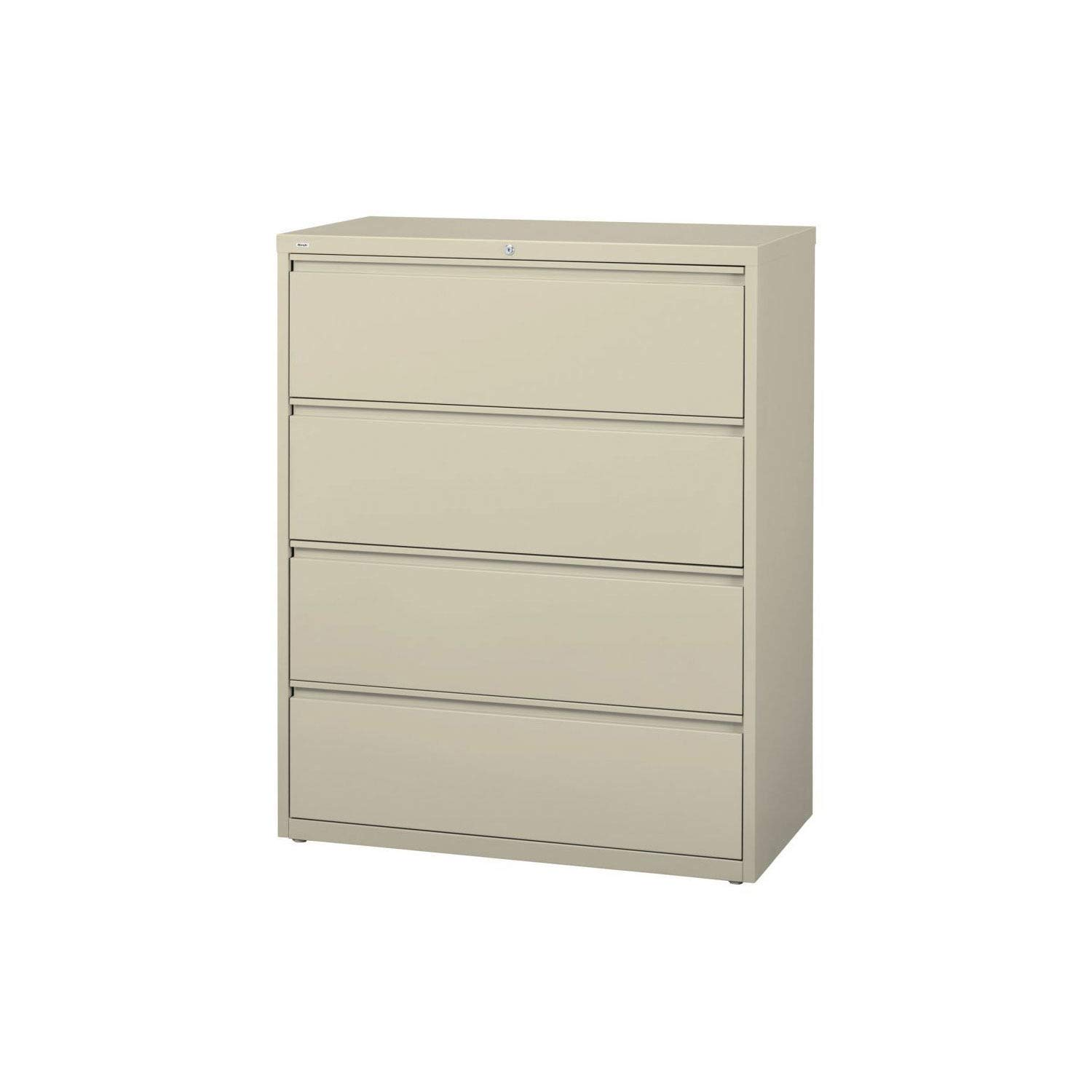 B001JSSPTA Lorell 4-Drawer Lateral File, 36 by 18-5/8 by 52-1/2-Inch, Putty 51VCr8ICZTL._SL1500_