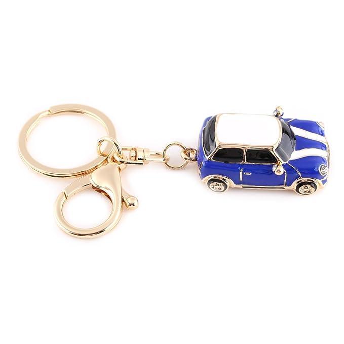 Amazon.com: walfront coche de aleación de zinc Llavero, Mini ...