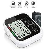 Vagalbox Monitor de presión Arterial, Uso en el hogar Medida Digital automática del Brazo Superior Presión Arterial Frecuencia cardíaca Pulso Brazalete de Rango Amplio Negro