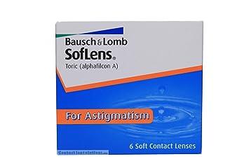 Buy Bausch   Lomb Alphafilcon A Soflens Astigmatism Contact Lens (6 ... 63a1da15a9d6