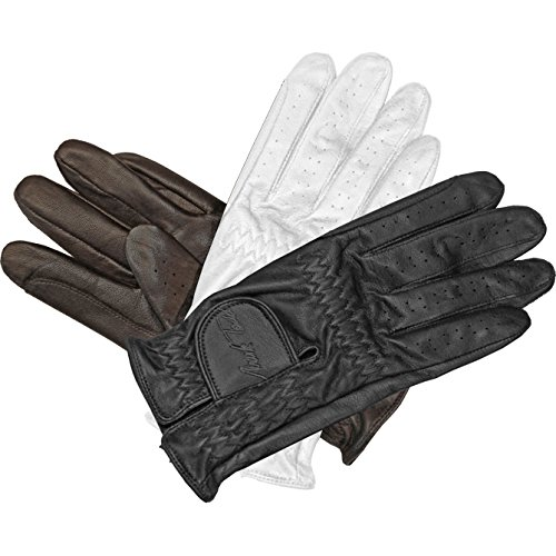 (Mark Todd Show Leather Riding Glove - Dark Brown, X-small)