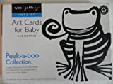 Peek-a-Boo Collection Art Cards for Baby (0-12 Months) by Wee Gallery
