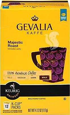 Gevalia Majestic Roast K Cup Pods, 4.12 Ounce (Pack of 6)