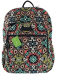 Vera Bradley Campus Backpack with Solid Color Interior (Updated Version) (Sierra with Black Interiors)