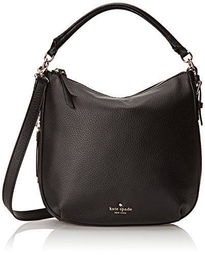 kate spade new york Cobble Hill Small Ella Shoulder Bag, Black, One Size by Kate Spade New York