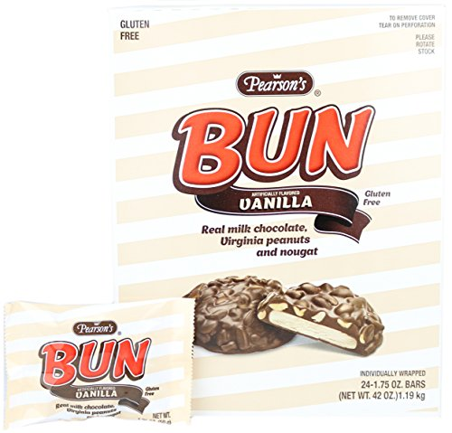 Pearson's Bun Bar - Vanilla 24ct by Candy Crate