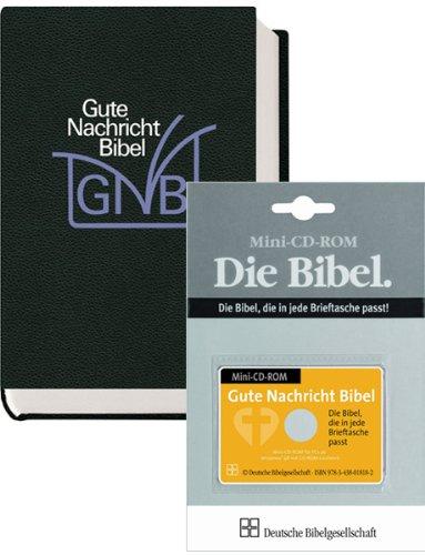 Das Gute Nachricht-Kombipaket: Gute Nachricht Senfkornbibel und CD-ROM im Scheckkartenformat