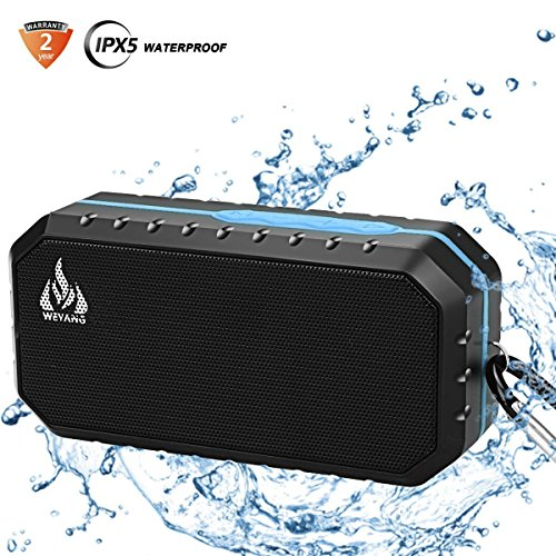 Portable Bluetooth Wireless Speakers, IP65 Waterproof Bluetooth Speakers,10-Hour Playtime Portable Phone Speakers, Built-in Mic Outdoor Wireless Speakers for iPhone iPad Android Phones Computer Etc.