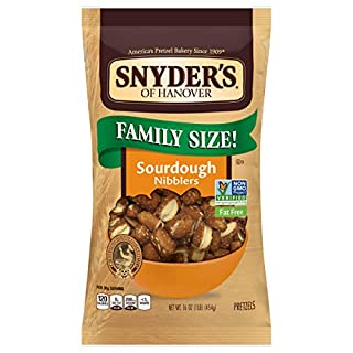 Snyder's of Hanover Pretzels, Sourdough Nibblers, 16 Ounce Family Size
