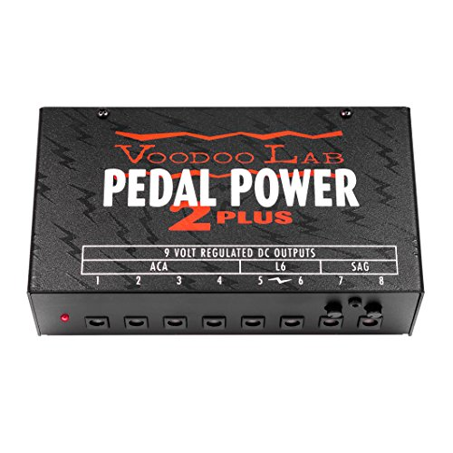 Voodoo Lab Pedal Power 2 Plus Isolated Power Supply Isolated Power Supply