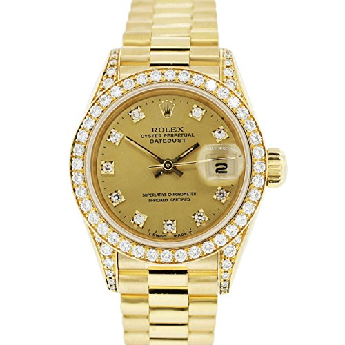 Rolex Datejust automatic-self-wind womens Watch 69158 (Certified Pre-owned)