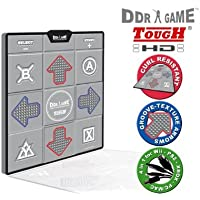 Hyperkin Inc PS/PS2/Xbox/USB/GC/Wii - Tough HD Deluxe Universal Dance Pad