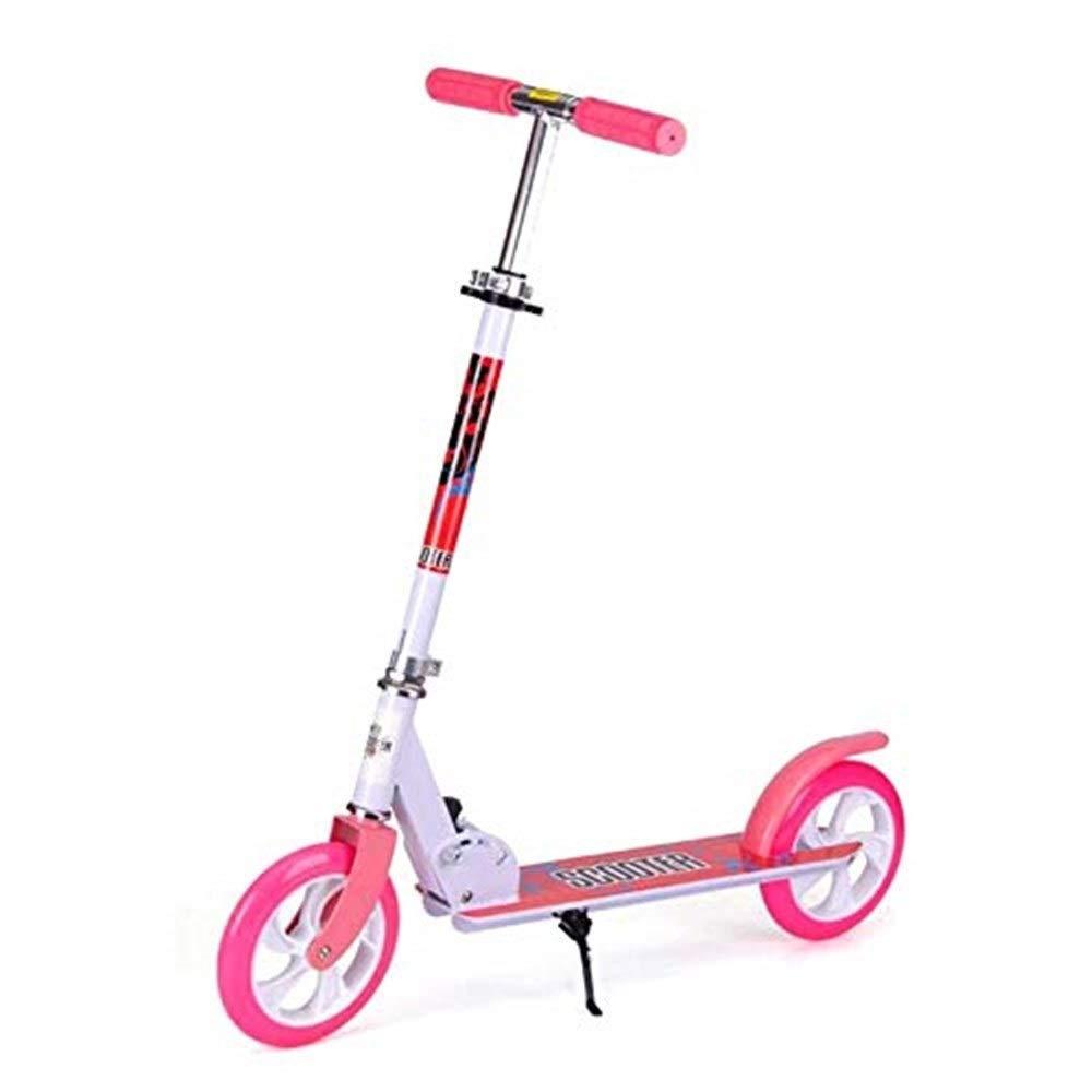 好評 スクーター幼児用スクーター スクーターを蹴っている子供二輪スクーター、スクーターを蹴って、折りたたみ自転車に取り組んで(618歳に最適)(カラー:ピンク) B07R7LMQ8T 子供用スクーター B07R7LMQ8T, 健康関連書籍ケンコーブックス:354e038f --- senas.4x4.lt