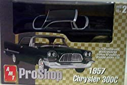 AMT 31278 1957 Chrysler 300C - Pro Shop - Fully Decorated - Plastic Model Kit - 1:25 Scale - Skill Level 2 by AMT Ertl from Amt Ertl