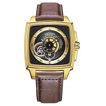 Amazon.com: Megir - Reloj de pulsera para hombre totalmente ...