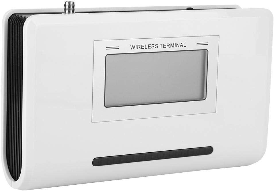 Terminal inalámbrico Fijo, Terminal inalámbrico gsm, 100-240V SIM Llamada telefónica, 1900/1800/900 / 850MHZ con Pantalla LCD(EU)