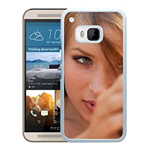 New Custom Designed Cover Case For HTC ONE M9 With Alyssa Branch Girl Mobile Wallpaper(2).jpg