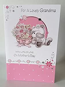 For a Lovely Grandma, Mothers Day Card