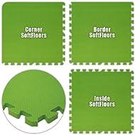 Best Floor SoftFloors Lime Green Total
