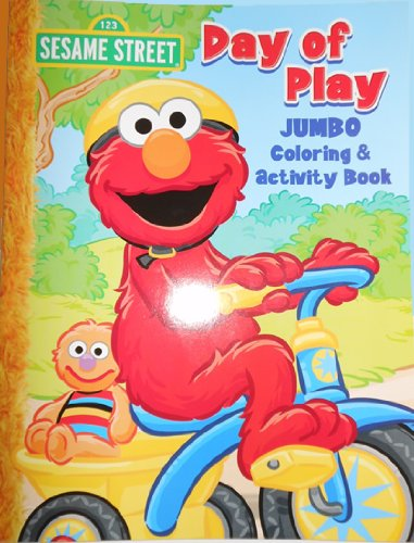Sesame Street Elmo Jumbo Coloring Book - Day of - Spring Nyc Street
