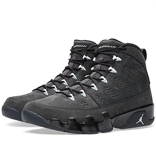 promo code 1340f 9f7e2 Air Jordan 9 Retro Mens  Shoes Anthracite White-Black 302370-013 (9 D(M)  US) - Buy Online in UAE.   Apparel Products in the UAE - See Prices, ...