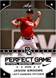 """JASON GROOME 2015 LEAF """"PERFECT GAME"""" SHOWCASE ROOKIE CARD! RED SOX 2016 #1 PICK!!"""