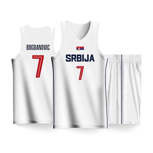 HS-XP Bogdan Bogdanovic # 7 Jersey del Equipo de Serbia para ...