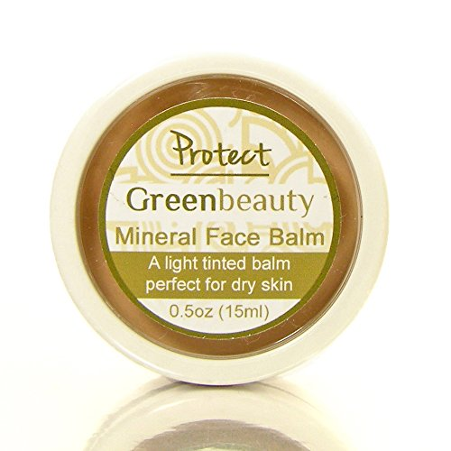 The Mineral Face Balm is a slightly oily cream for the face, good for extra dry skin. The natural tinted cream balm from Green Beauty is a healthy, cruelty free alternative to mineral powders. 1/2oz ()
