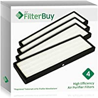 4 - FilterBuy GermGuardian FLT4825 HEPA Replacement Filters, Filter B. Designed by FilterBuy to fit GermGuardian AC4300, AC4800, AC4900 Series Air Purifiers.
