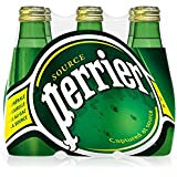Perrier Agua Mineral Natural con Gas - Pack de 6 x 20 cl - Total: 120 cl