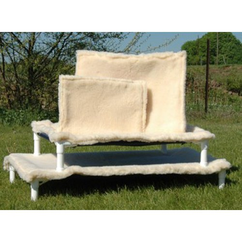 Pipe Dreams Outdoor Elevated Pet Bed X-Small