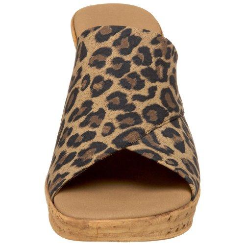 O Women's NEX Onex Brown Christina Leopard vrqSvfnz