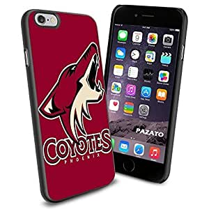 diy zhengNHL HOCKEY Phoenix Coyotes Logo, Cool Ipod Touch 4 4th Smartphone Case Cover Collector iphone TPU Rubber Case Black