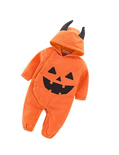 zhbotaolang Bebé Halloween Mameluco Recién Nacido Mono - Niños ...