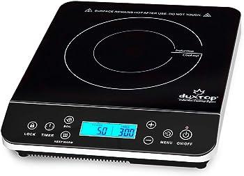 Duxtop 9600LS 1800 Watt Portable Countertop Burner Induction Cooktop