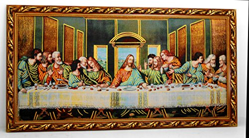 Last Supper wall frame / Christian frame / Gift / Home decorative by 1871