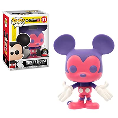 Pop Funko Disney Mickey Mouse Colorways Shop Exclusive #01 Pink/Purple: Toys & Games