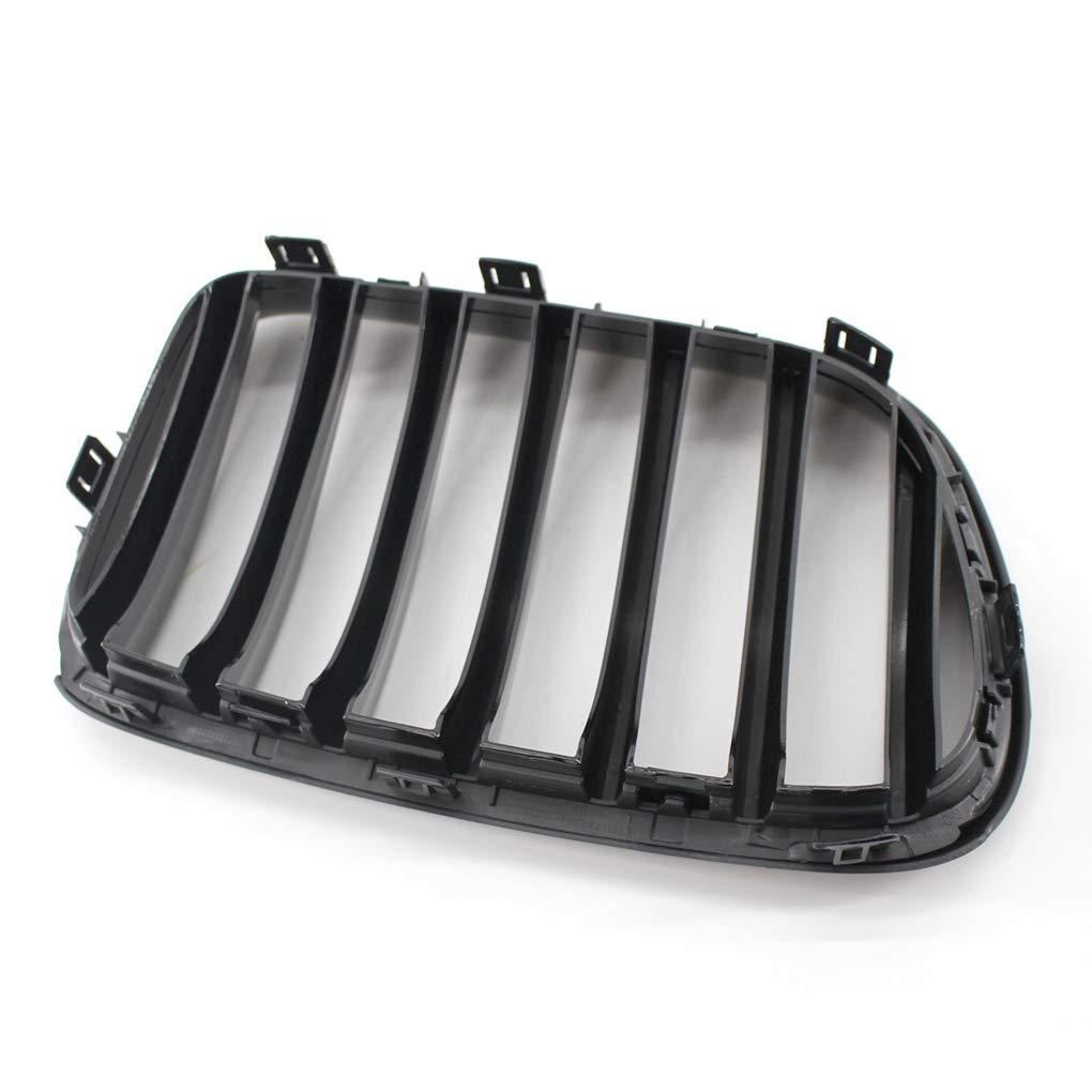 Brillant Gloss Black Pare-Chocs Avant Grille Kidney pour BMW X3 F25 2011-2013 Pr/é-LCI fgyhty