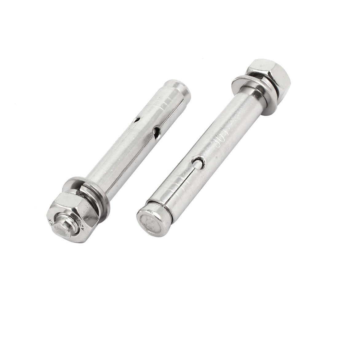 uxcell M10x90mm 304 Stainless Steel Air Condition Fitting Sleeve Anchor Expansion Bolt 5pcs by uxcell (Image #3)