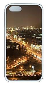 iPhone 5S Case Minsk TPU Custom iPhone 5/5S Case Cover White