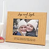 Personalized Best Friend Photo Frame/Best Friend Gifts for Girls Women/BFF wooden engraved picture