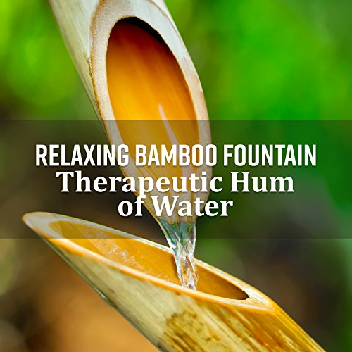 Relaxing Bamboo Fountain: Therapeutic Hum of Water, Tinnitus Relief, Fall Asleep Peacefully, Zen Meditation Garden
