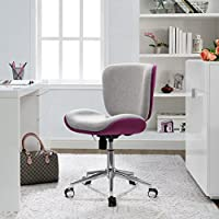 Serta Style Haylie Office Chair, Heather/Allure Fuchsia