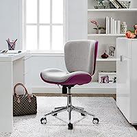 Serta Style Haylie Office Chair, Heather/Allure Fuchsia