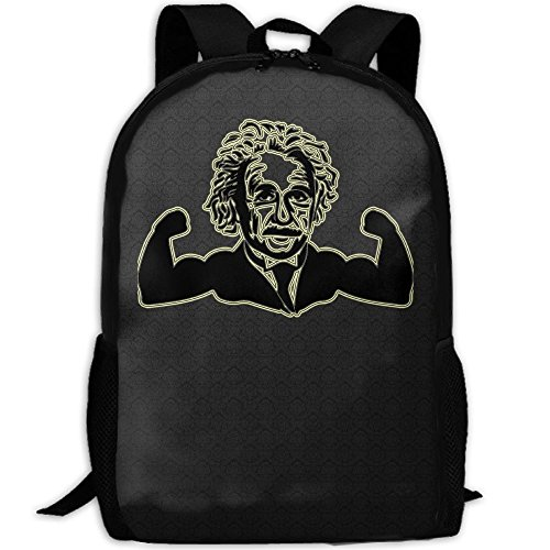 Cute Muscle Einstein Unique Outdoor Shoulders Bag Fabric Backpack Multipurpose Daypacks For - Einstein Sunglasses
