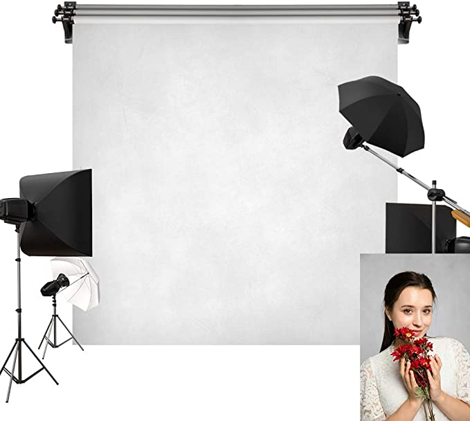 Grey 8x10 FT Photography Backdrop Digital Creation of an Abstract Dark Colored Background Classical Print Background for Photography Kids Adult Photo Booth Video Shoot Vinyl Studio Props
