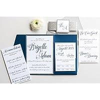 Amazoncom Winter Wonderland Wedding Invites Stationery
