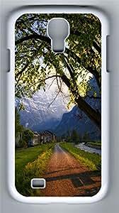 Samsung Note S4 CaseNice Evening In Switzerland PC Custom Samsung Note 2 Case Cover White