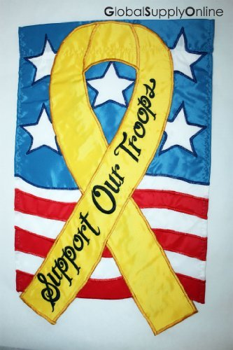 Garden Flag Support Our -